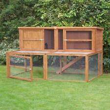 6ft Kendal Extra Large Rabbit Hutch and Run