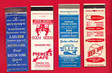 1953 Boston Red Sox Matchbook Schedule - Fenway Park - Ted Williams