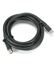 Coax/Coaxial F Type Screw-on RG6 HD Satellite/Cable-TV HDTV Antenna Cable Black