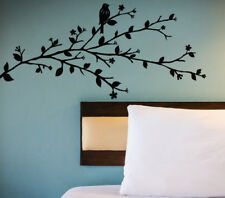 Bird Blossom Tree Wall Sticker Home Quotes Inspirational Love MS094VC
