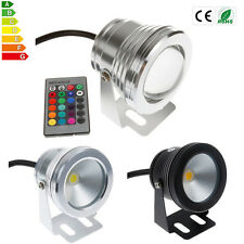 10W 12V RGB LED Light Fountain Pool Pond Spotlight Underwater Waterproof IP68