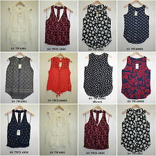 Lucky Brand,Women's Paisley Woven Knit Tops.New with Tags