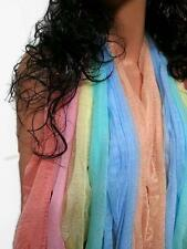 Womens Ladies Soft Shimmering Sheer Chiffon Long Scarf **6 Colors to Choose from