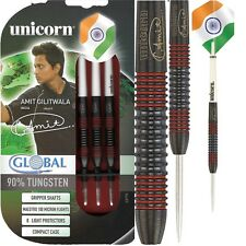 Amit Gilitwala Global 90% Tungsten Steel Tip Darts by Unicorn