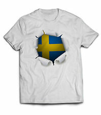 Kids children Sweden 3D shirt jersey football soccer LIMITED EDITION
