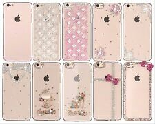 New Luxury Fashion Cute Crystal Pattern Hard Phone Case Cover For iphone 6 6S
