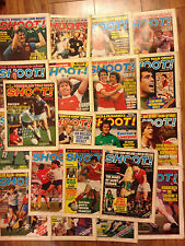 Shoot Magazines,1980, Choose your favourite issue and find poster/article, MINT