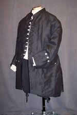 Frock Coat Plus-sized Deluxe Custom Colonial Rev War POTC Rendezvous 18th Cent