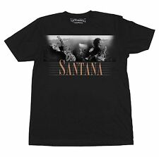 SANTANA MENS T SHIRT ORIGINAL JIM MARSHALL PHOTOS 1969 1971 ROLLING STONES