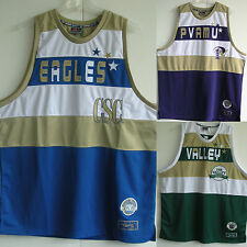New sewn VINTAGE basketball Jerseys PVAMU Panthers CSC Eagles Valley Devils