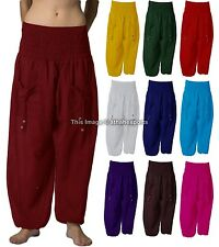 Harem Pants Trousers Baggy Yoga Women Gypsy Aladdin Genie Hippie Cotton boho