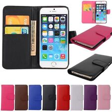 Wallet Flip Folio PU Leather ID Card Slots Case Cover For iPhone 6/6S Plus