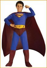 Superman Kids Costume Child Boys Costume Superhero DC Comics Size Medium & Large