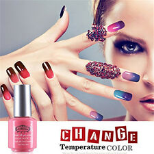 8ml Perfect Summer Gel Polish Nail Art Lacquer Color Change Changing UV/LED Tips