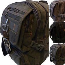 small Backpack Work backpack daypack Canvasrucksack Fabric backpack 09-285