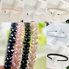 Fashion Headband Women's Lady Girl Chic Bead Crystal Head  Head Piece Hair Band