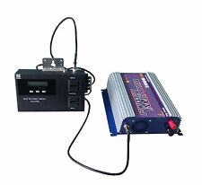 2000W LCD mppt solar grid tie inverter DC45-90V  AC 230V with power limiter