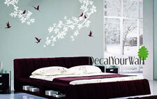 Cherry Blossom Tree Wall Decal Living Room Bedroom Nursery Flower Wall Sticker