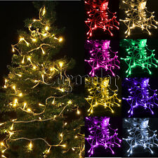 10LED/20LED/30LED String Fairy Light Wedding Party Xmas Tree Battery Decorations