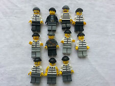 LEGO CITY Minifigurine, figurine, personnage police voleur choose model