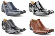 Mens Majestic Classic Squared Toe Slip On Loafers Casual Dress Shoes 88263