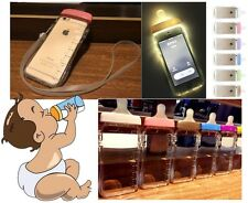 "Clear Baby Biberon Milk Feeding Bottle Phone Cover Case For 5.5"" iPhone 6 Plus"
