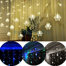 3MX1M 150 LED Hanging Snowing Christmas String Fairy lights Lighting Xmas Party