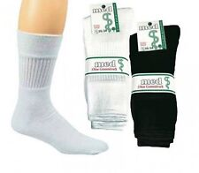 5 Pairs Health - sport socks,without elastic, black and white, Ch-920