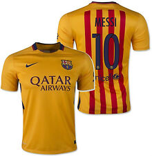 NIKE LIONEL MESSI FC BARCELONA AWAY JERSEY 2015/16.