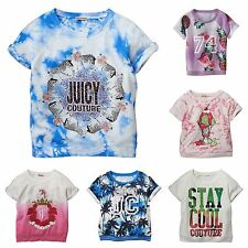 Juicy Couture Girls French Terry  Sweat Top ( Size/color varies)