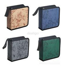 Hot Useful 40 Disc CD DVD Holder DJ Storage Box Case Organizer Wallet Bag Album