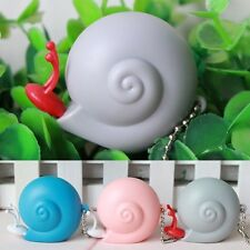 Home Snail Fiberglass Retractable Tape Measuring Ruler Keychain 40 inch 100 cm
