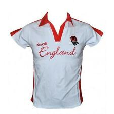 WOMENS KOOGA ENGLAND RUGBY SHIRT SUPPORTERS LADIES TEE TOP SIZE 12 BNWT