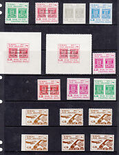Postal Strike to Jersey Guernsey & Isle Man U/Mint sets S/Sheets multi listing