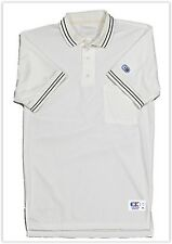 Cliff Keen Cream Umpire S/S Polo Shirt V-126 NWT SG0997