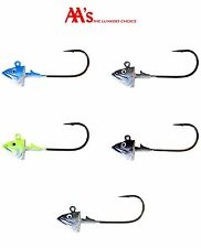 AA's Worms Sakana Swimbait Jig Heads 2pk - Select Color/Size