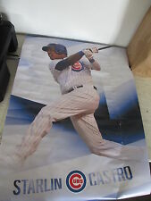 """Chicago Cubs Trends """"Starlin Castro"""" Poster Used"""