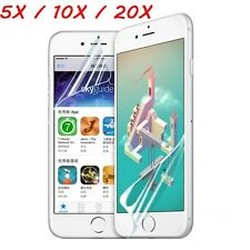 10X20X/5X Clear Front and Back HD Screen Protector Film for iPhone 6/6s/6 plus