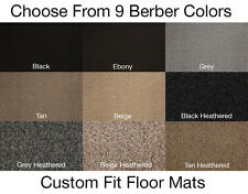 2nd Row Berber Carpet Floor Mat for Jeep Cherokee #T3670