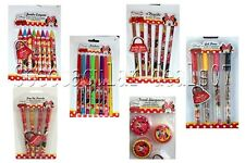 Disney Minnie Mouse School Stationary Set Stationery Pens Pencils Party Filler