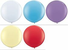 Qualatex Giant 3 Foot Solid Colour Latex Balloons 3'  3ft  Choose Colour & Qty