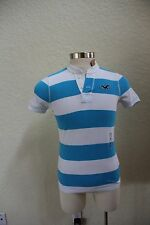 NWT HOLLISTER BY ABERCROMBIE AND FITCH MEN POLO SHIRT- HENLEY