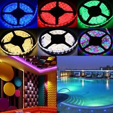 Full Color RGB 5M 600 300 LEDs 3528/5050 SMD 12V Flexible LED Strip Light Roll