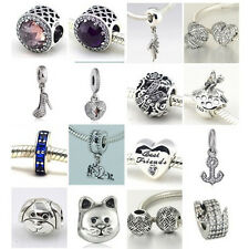 Jaime 925 Solid Sterling Silver New Arrivals C fit European Bead Charm Bracelets
