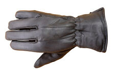 Premium Lambskin Mens Winter Driving Dress Gloves 3M Thinsulate lined Black FG1
