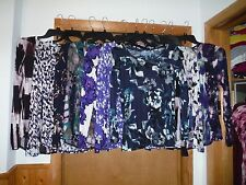 Long Sleeve Blouses Simply Vera Wang size PL,PM,PS Multi Color 100% rayon NWT