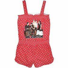1D - ONE DIRECTION - GIRLS PLAYSUIT - ONESIE - NEW - 10 TO 16