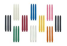 5 New Sets Nylon Deflectagrip Dart Shafts - Choose Color and Length - 15 Shafts