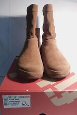 WOMENS FITFLOP FIT FLOP CRUSH BOOT BROWN SUGAR BOOT  VARIOUS SIZES