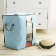 Popular Foldable Clothes Pillow Blanket Underbed Storage Bag Organizer Boxes